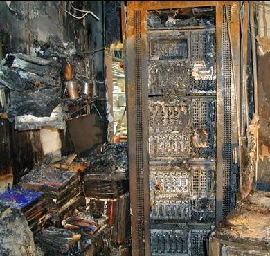 七氟丙烷气体灭火系统:火灾很近!机房起火远比想象的更具毁灭性
