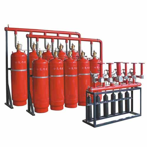 100L七氟丙烷灭火系统